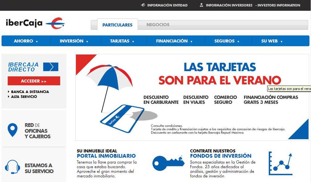 Practicas de internet for Bankia oficina por internet