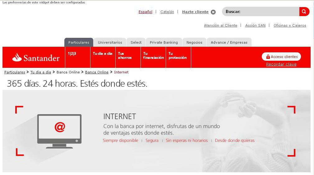Practicas de internet for No puedo entrar en bankia oficina internet